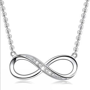 Jewelry - Silver Infinity Pendant Necklace